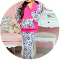 Для девочек пижамы, халаты