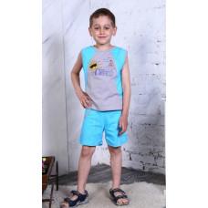 Костюм ЛЕТО-Солнце в Очках (футболка+шорты)