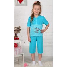 Пижама МИШКА Стесняшка (футболка+бриджи)